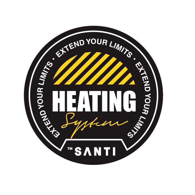 SANTI heating logo