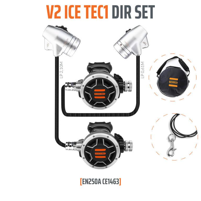 ZESTAW TECLINE V2 ICE TEC1 DIR SET