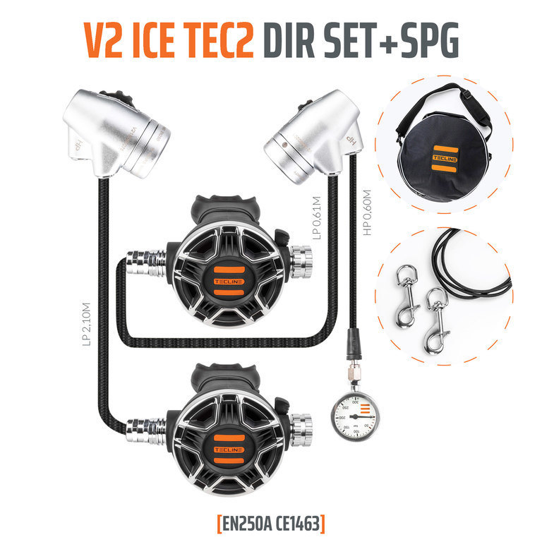 ZESTAW TECLINE V2 ICE TEC2 DIR SET + SPG