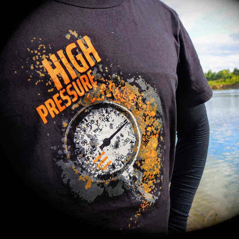 logo koszulka tecline high pressure