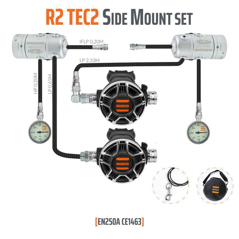 ZESTAW TECLINE R2 TEC2 SIDEMOUNT SET
